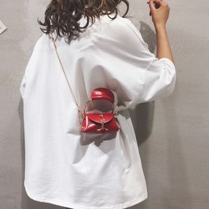 Karis' Kloset Bags - Red Deluxe Mini Bag